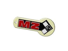 MZ logo/keyring