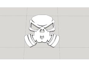 Gas mask nitro logo