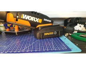 WORX USA battery to WORX EU tools adapter