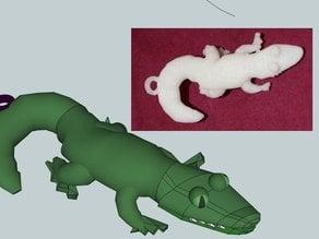 DailyEarring#103:Crocodiligator
