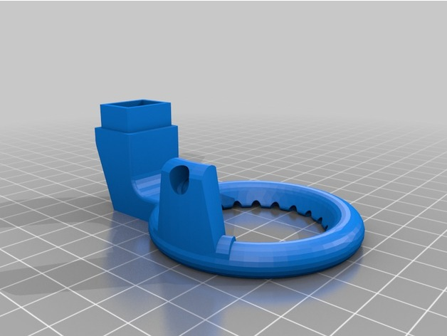 Anet A8 Center Nozzle Fan By Punio85 Thingiverse