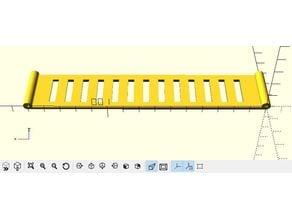 Customizable flexible bracelet for the ultrasound-based navigational support