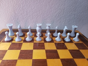 Curvy Chess Set