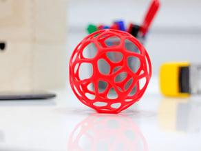 Zortrax Voronoi Sphere