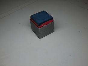 Billard chalk holder