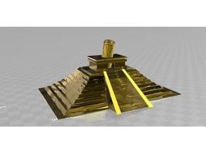 Mayan pyramid_pencil_holder