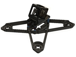 GoPro Mount for Starfish 3D Printable FPV Qaudcopter Frame