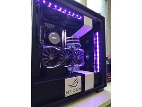 (without ssd carry remix) NZXT SSD Bracket with Asus ROG Logo