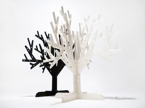 Printable jewelry tree