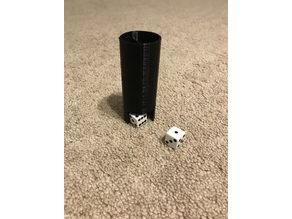 Minimalistic Dice Tower