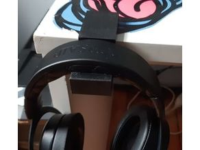 "1"" desk headset support"