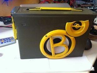 Ammunition Radio Box