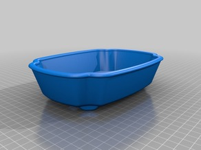 Bonsai Pot ver20 with feet