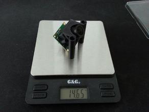 Lumenier QAV210 / Lisam 210 FPV-Cam mount / holder designed for PZ0420m