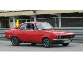 Air inlet for Opel Manta A