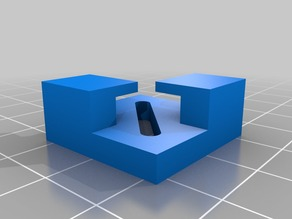 My Customized FlashForge glass bed corner