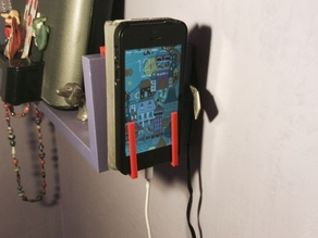 Support for charging the phone