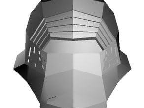 Low Poly Kylo Ren Helmet