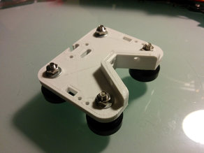 Tevo Tarantula Modular X Carriage, with BLTouch, without Belt Lock