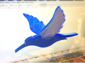 Balance Bird in 2 version - 2種平衡鳥