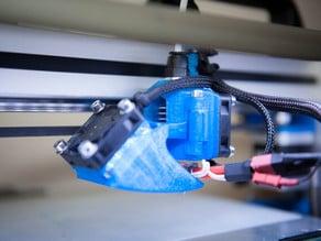 E3D V5 hotend easy maintenance carriage for Felix 3D printer