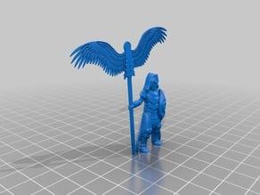 Basilean army standard bearer