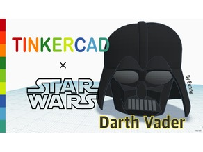 Simple Darth Vader with Tinkercad