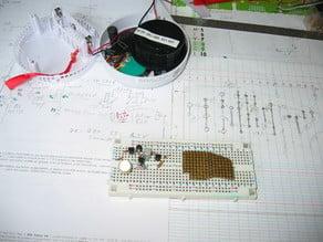 Détection de fumée => mise à l'arrêt de l'imprimante 3D