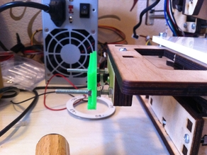 Printrbot Jr. X axis belt tensioner