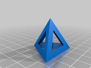 Tetrahedron (hollow)