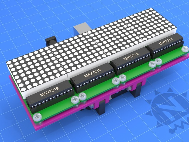 Arduino UNO & 8x8 LED Matrix Array by notionSunday - Thingiverse