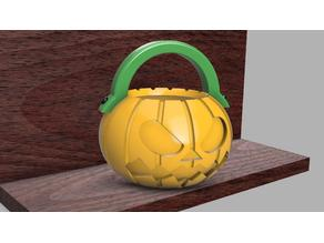 Halloween mini candy bowl