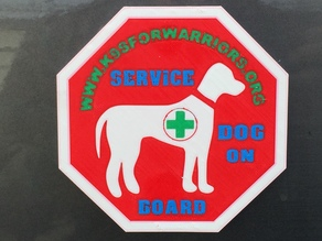 Service Dog On Board