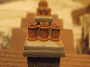 SCALEPRINT CHIMNEY POTS PART 1      00/HO SCALE