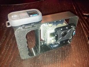 Gopro hero2 dive mount whit remote holder!