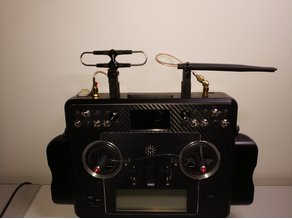 taranis x9e generic antenna mount