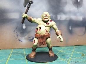 Ogre Zombie w/Cyclops head and axe