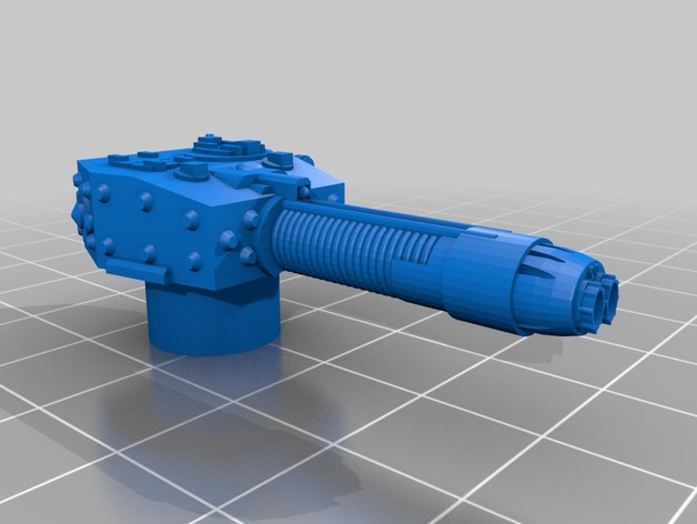 Cromwell turret with Tesla Cannon by Kpi1986 - Thingiverse