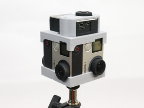 GoPro 360 Rig for 5 Gopro Hero4