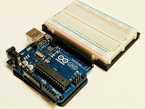 Arduino + Breadboard Mount