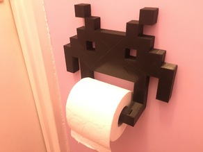 [YAITPH] Yet Another Invader Toilet Paper Holder