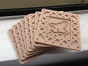 8-Bit Videogame Coasters