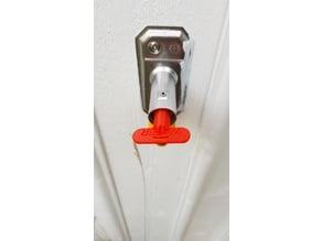 Water faucet key