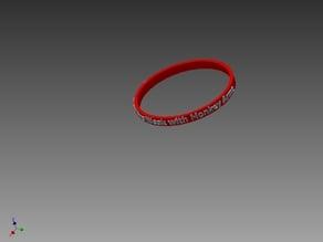 Live weak with Monkey Arms bracelet