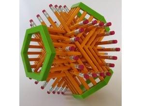 Various Pencil Sculptures