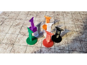 Banner Markers For Tabletop Games