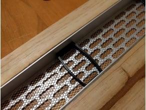 Vent mesh retaining clip 40 x 20 x 6mm
