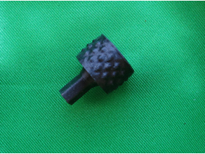 Hand knob for Worm gearbox