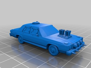Gaslands Classic Sedan car