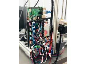 Anet AM8 MKS Gen V1.4 and Raspberry Pi 3 B+ Mount